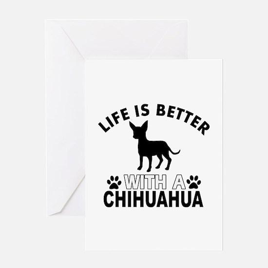 Chihuahua vector designs Greeting Card