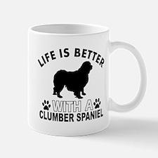 Clumber Spaniel vector designs Mug