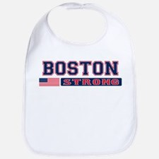 BOSTON STRONG U.S. Flag Bib