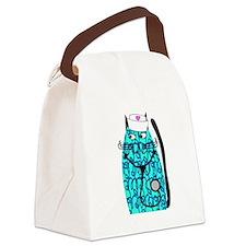 nurse cat 1 Canvas Lunch Bag