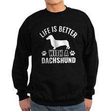 Daschund vector Jumper Sweater