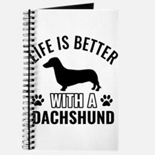 Daschund vector Journal