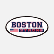 BOSTON STRONG U.S. Flag Patches