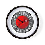 Hoboken Monkeyman Wall Clock