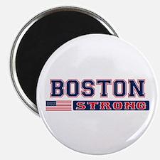 BOSTON STRONG U.S. Flag Magnet