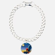 il on canvas) - Charm Bracelet, One Charm
