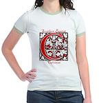 The Scarlet Letter Jr. Ringer T-Shirt