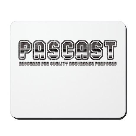 PASCast Logo Mousepad