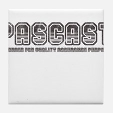 PASCast Logo Tile Coaster
