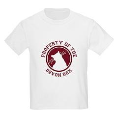 Devon Rex Kids T-Shirt