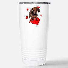 Love Dachshunds Travel Mug