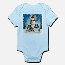 Rough Collie Christmas Gifts Infant Bodysuit