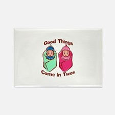 Good things come in twos (boy & girl twins) Rectan