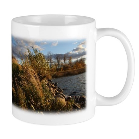 Windy Sunset at Lac Cardinal Mug