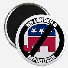 NO LONGER A REPUBLICAN Magnet