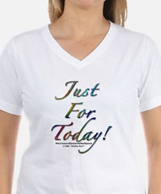 """""""Just for today"""" Ash Grey T-Shirt"""