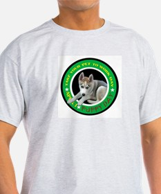TAKE YOUR PUPPY TO WORK DAY Ash Grey T-Shirt