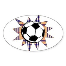 Futbol Hooligan Oval Decal