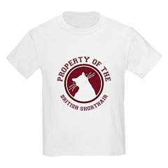 British Shorthair Kids T-Shirt