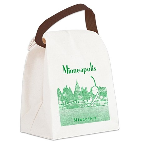 Minneapolis Canvas Lunch Bag