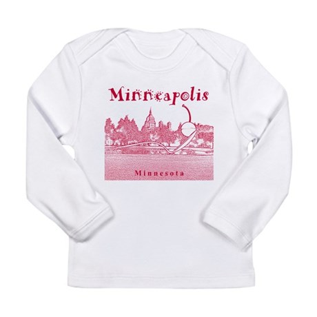 Minneapolis Long Sleeve Infant T-Shirt