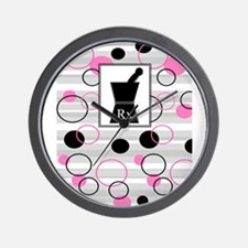 pharmacist C Wall Clock