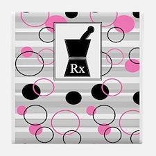 pharmacist C Tile Coaster