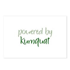 Powered By kumquat Postcards (Package of 8)