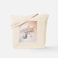 Gardener's Wheelbarrow Tote Bag