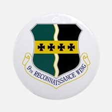 9th RW Ornament (Round)
