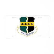 9th RW Aluminum License Plate