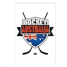 Australian Ice Hockey Shield Postcards (Package of