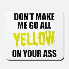 Yellow Team Mousepad