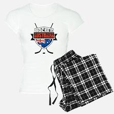 Australian Ice Hockey Shield Pajamas