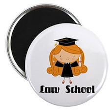Cute Law School Magnet