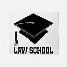 Law School Graduation Throw Blanket