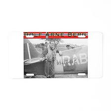 Rolf Arne Berg Aluminum License Plate