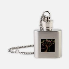 Celebrate Poetry Flask Necklace
