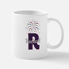 4th of July Fireworks letter R Mug