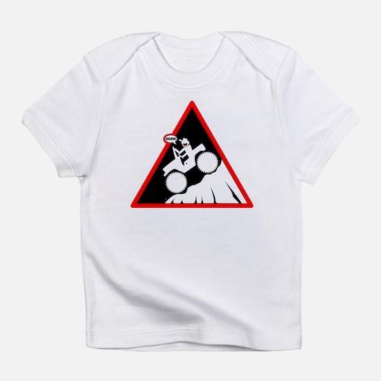 Downhill DUDE Danger Signs Infant T-Shirt