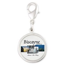 ABH Biscayne NP Silver Round Charm