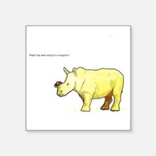 Ralph the Rhino Sticker