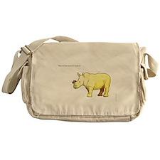 Ralph the Rhino Messenger Bag