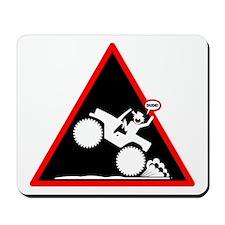 Gas It Stickman black Placard Mousepad