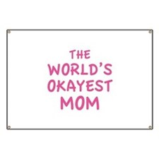 The World's Okayest Mom Banner