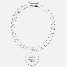 The World's Okayest Dad Bracelet