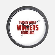 This is what WINNERS look like Wall Clock