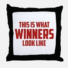 This is what WINNERS look like Throw Pillow