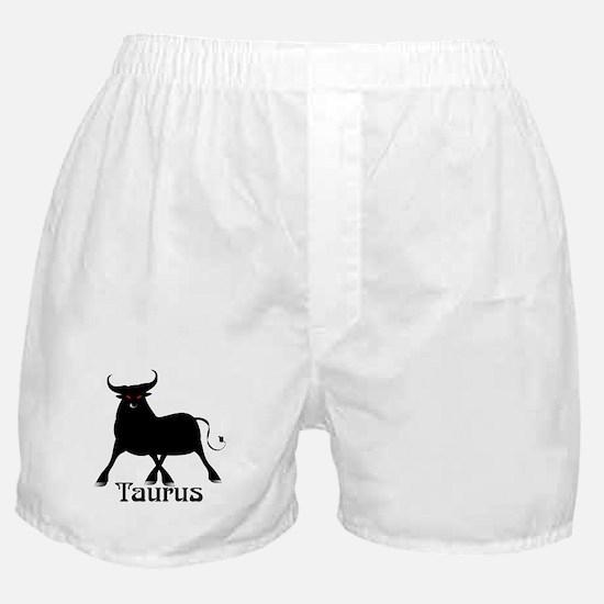 Whimsical Taurus Boxer Shorts