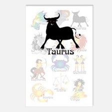 Whimsical Taurus Postcards (Package of 8)